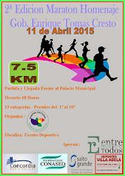 2º maraton Homenaje al ex Gobernador Don Enrique Tomas Cresto