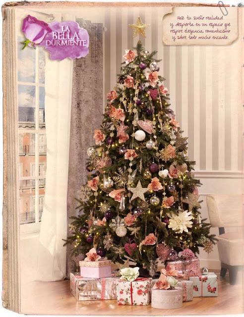 Ecopinturas fernandez una navidad de cuento - Arboles de navidad rosa ...