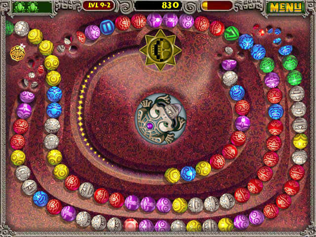 Zuma Deluxe PC Games Gameplay