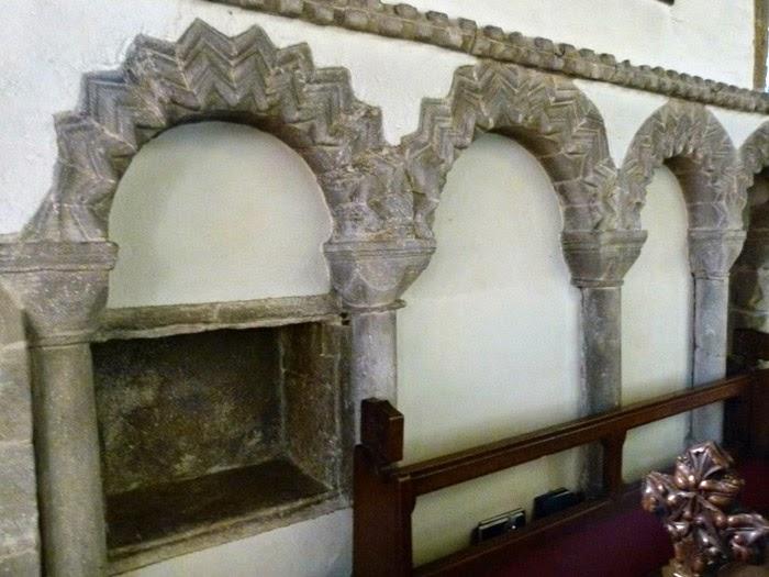 Norman, blind arcades, church architecture