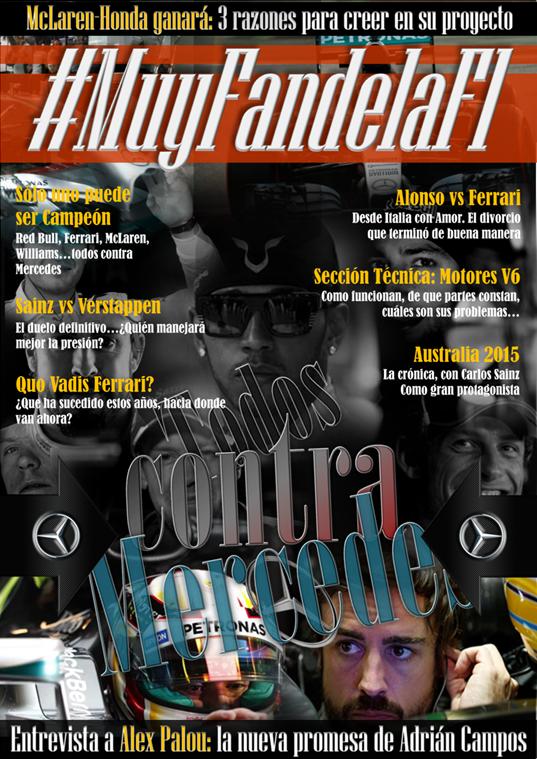 Revista #MuyFandelaF1 nº1