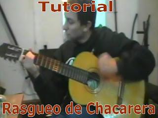 aprender rasguido de chacarera con guitarra, video y graficos