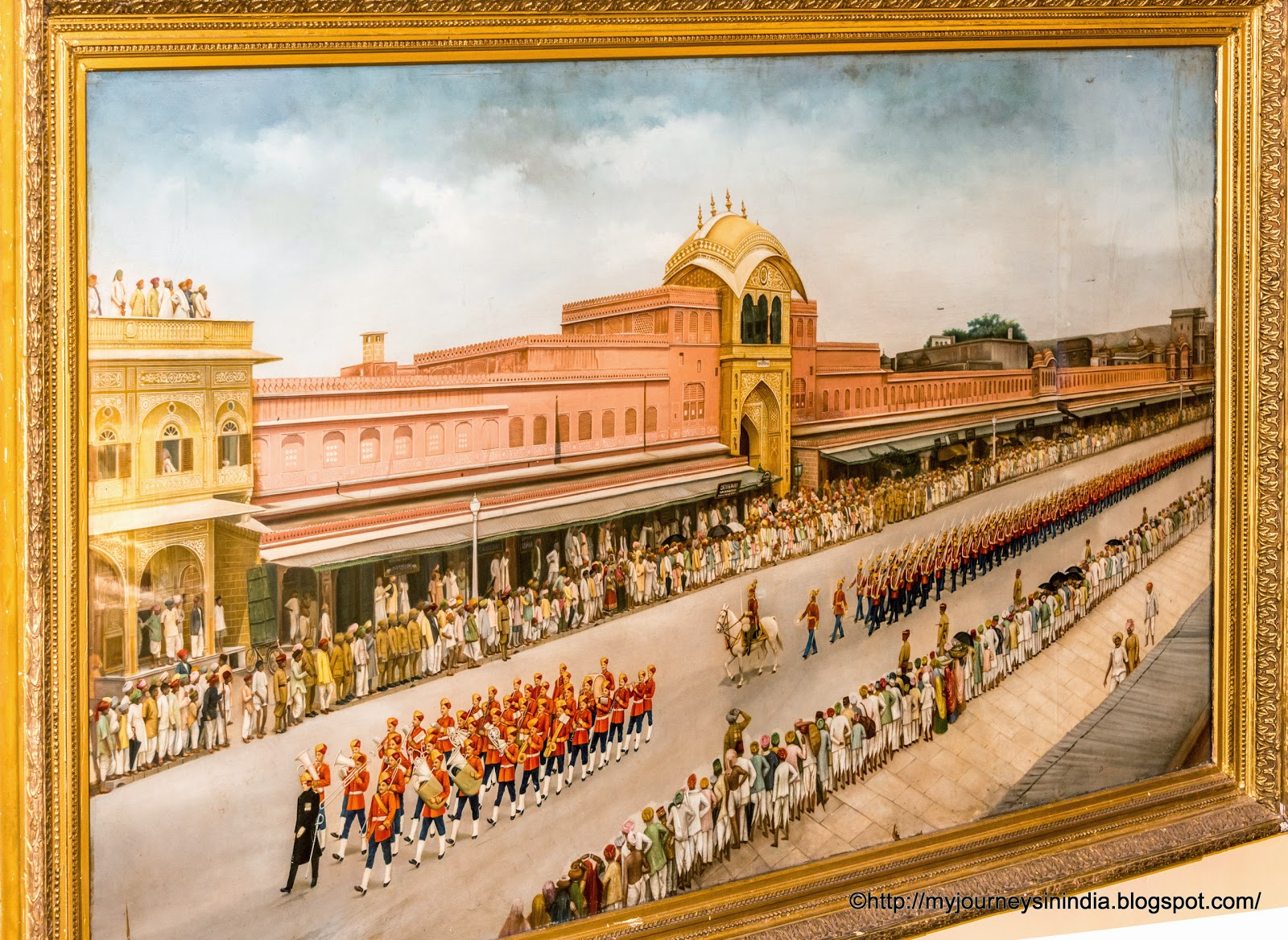 Paintings at City Palace Jaipur