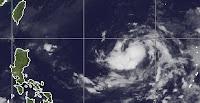 Tropischer Sturm PRAPIROON zieht in Richtung Philippinen, Prapiroon, Nina, aktuell, Taifunsaison 2012, Oktober, 2012, Philippinen, Satellitenbild Satellitenbilder, Vorhersage Forecast Prognose, Zugbahn, Verlauf,