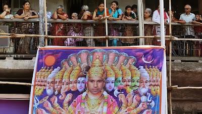 Sachin as God Poster