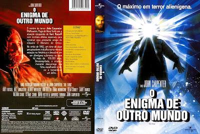 O Enigma de Outro Mundo DVD Capa