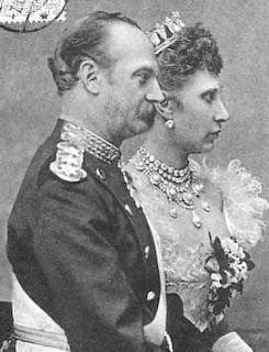 Christian Frederik Vilhelm Carl zu Schleswig-Holstein-Sonderburg-Glücksburg, Lovisa de Suède