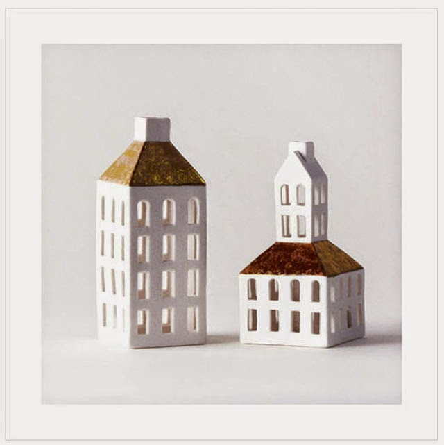christmas in denmark copenhagen houses white porcelain candle votives