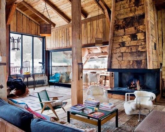 Desain Rumah kayu Unik