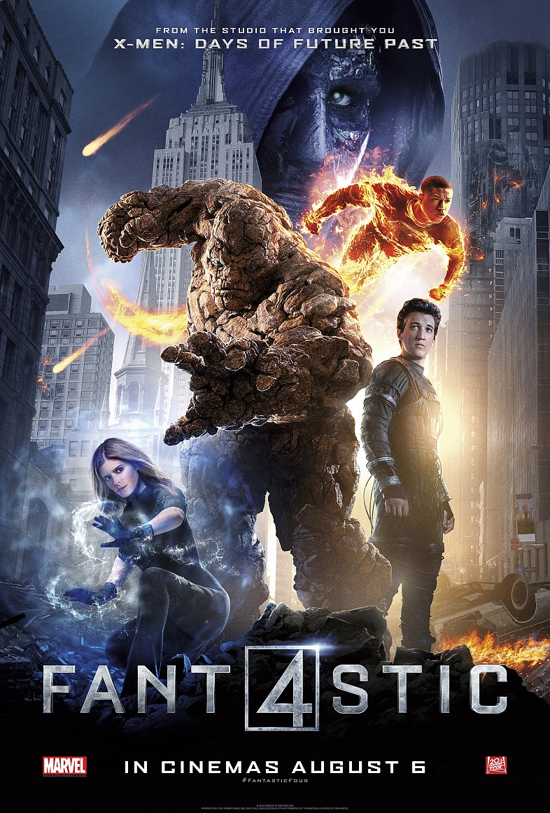 Fantastic Four (2015) แฟนแทสติก โฟร์ [ภาพ Master]