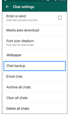 Whats app Backup