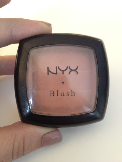 NYX Blush in Angel: Swatches, Photos, & Review