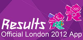 London 2012 Olympics, London 2012 Olympics Official Result App