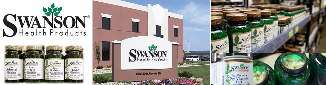 Swanson Vitamin อาหารเสริม วิตามินสเวนสัน ราคาถูก คุณภาพ จากอเมริกา แท้ 100%