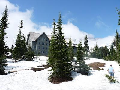 snow at Paradise
