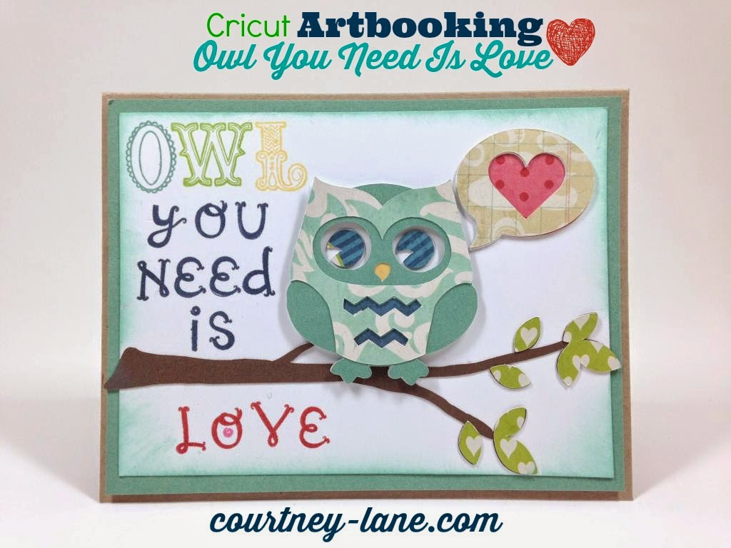 cricut artbooking card