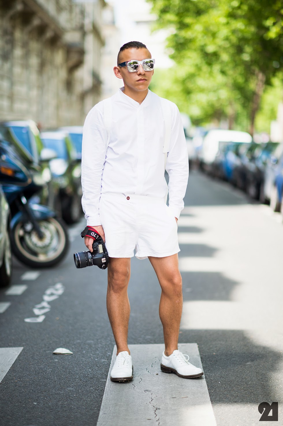 Afs men style mondays all white for White shirt outfit mens