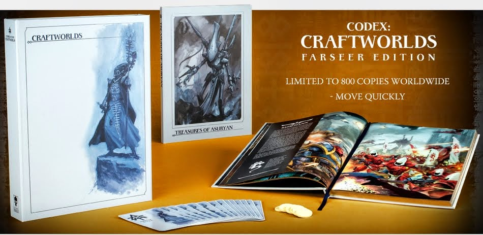 Codex: Crafworlds and New Eldar Pre-Orders are Live!