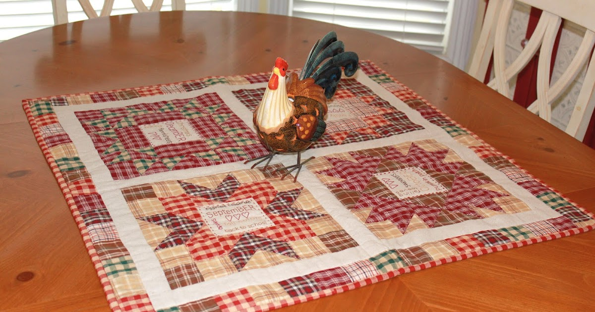 Sew Much 2 Luv The Bers Table Topper
