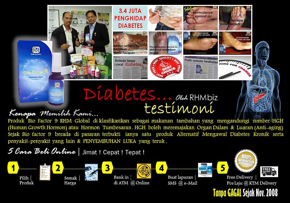 Diabetes Testimoni RHMbiz