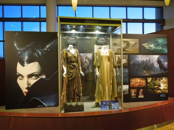 Original Maleficent movie costume exhibit