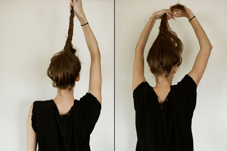 Wrap Hairstyle