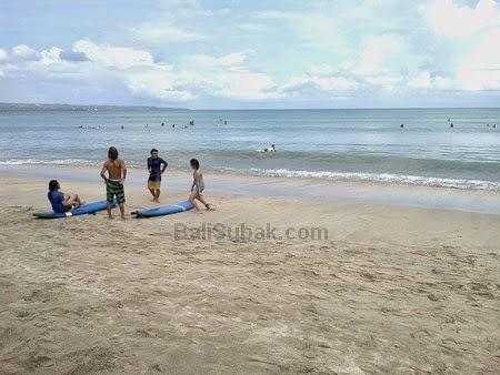 Learn to surf at Kuta Beach, Bali