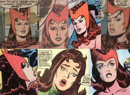Avengers 75-John Buscema-Scarlet Witch