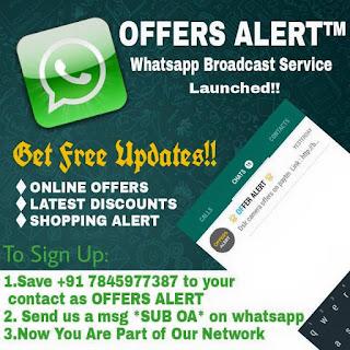 offers alert
