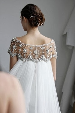 White Dress Bodice  Lace
