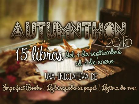 Participé en... AUTUMNTHON 2015: 15 Libros (Reto)