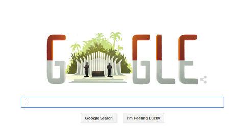 revolusiilmiah.com - Google Doodle HUT RI Ke-70