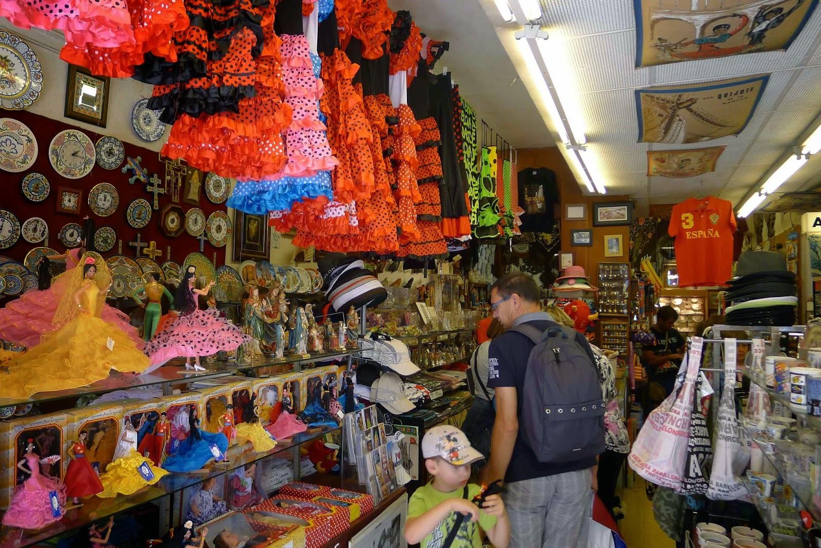 Barcelona Souvenir Shopping
