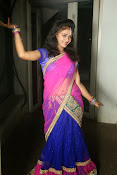 Young actress Jaya Harika in half saree-thumbnail-15