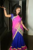 Young actress Jaya Harika in half saree-thumbnail-15