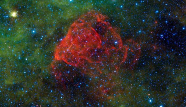 Puppis A - la supernova a forma di rosa