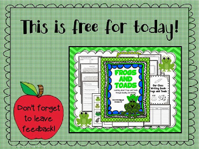 http://www.teacherspayteachers.com/Product/Frogs-and-Toads-ELA-Thematic-Unit-Grades-2-3-230338