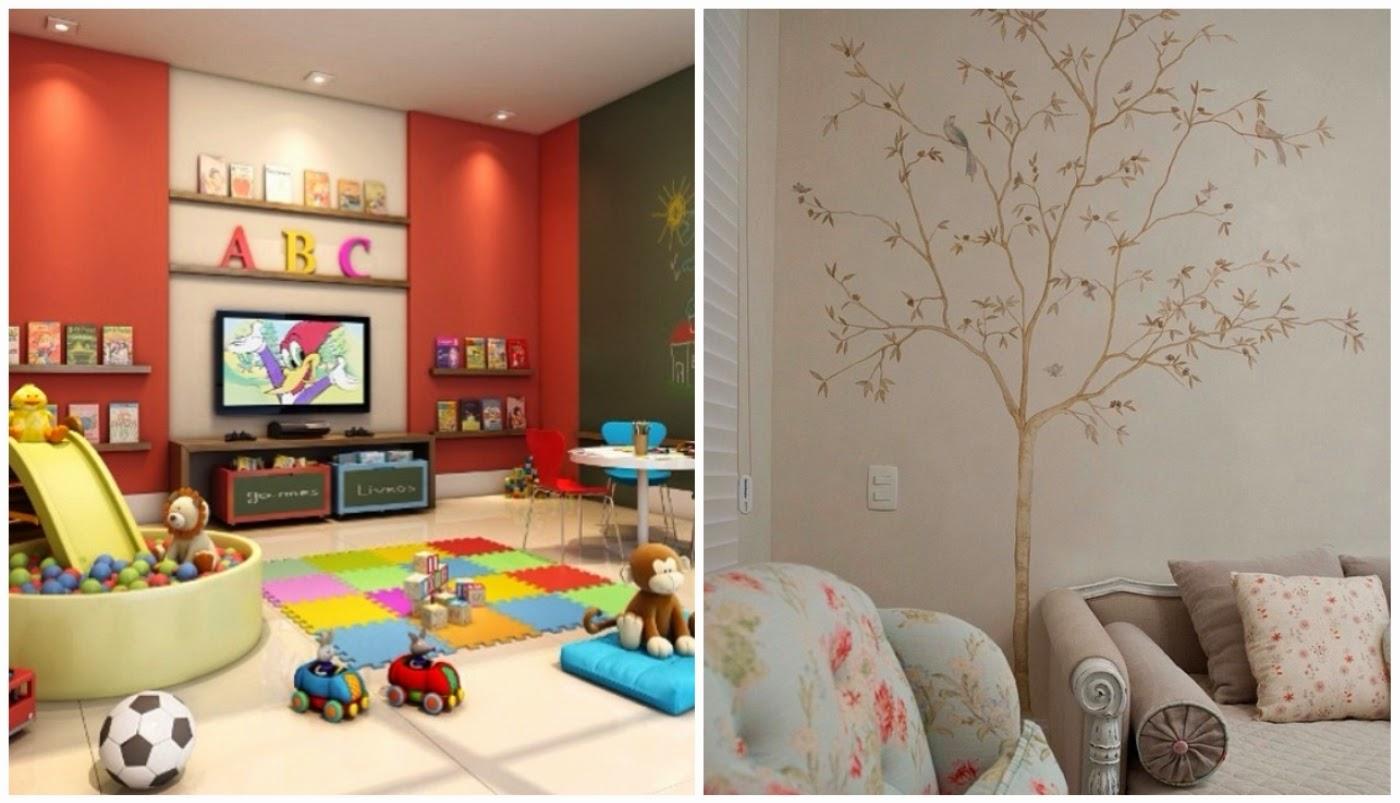 brinquedoteca @interioresdesigndecoracao e pintura na parede @inhousedesigners