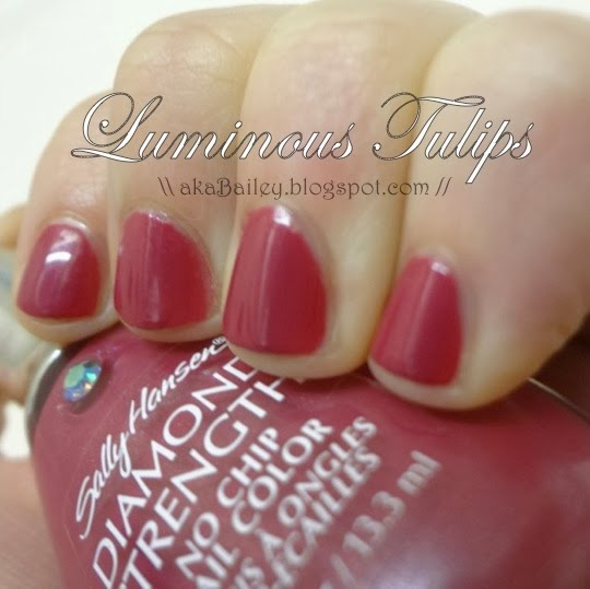 Sally Hansen Luminous Tulips nail polish
