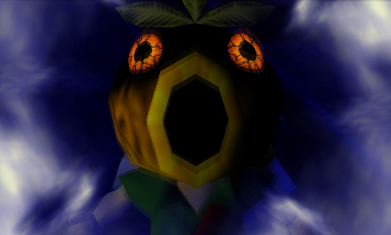 Legend of Zelda Majora's Mask video game 2000 deku mask transformation