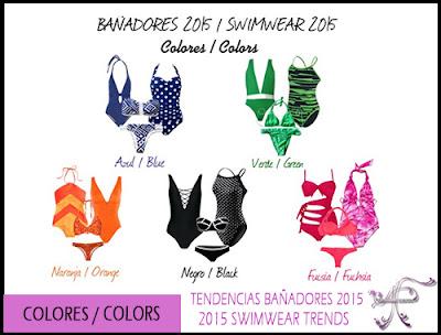 Colores Bañadores 2015