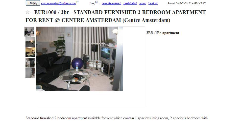 Rent A Room In Amsterdam For Students