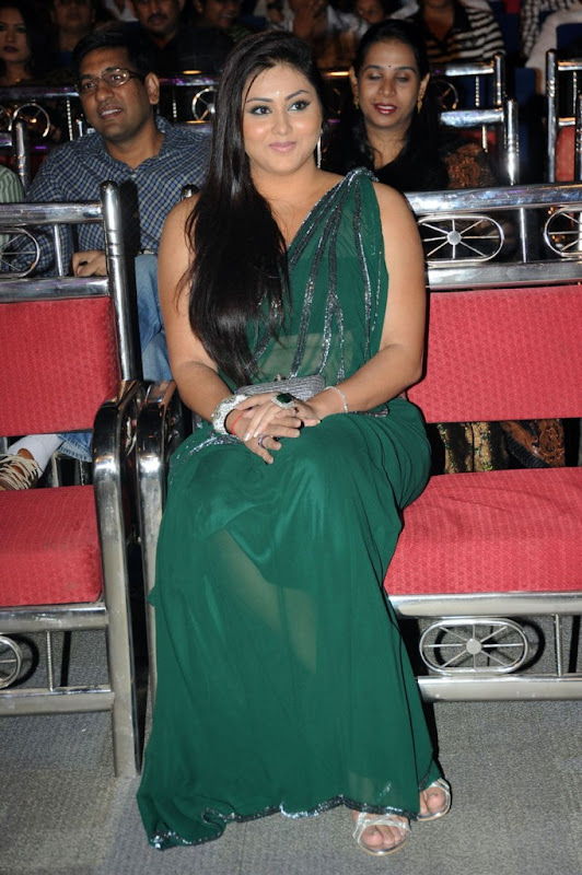 Namitha at Cinemaa Awards  Hot Saree Stills Photogallery wallpapers