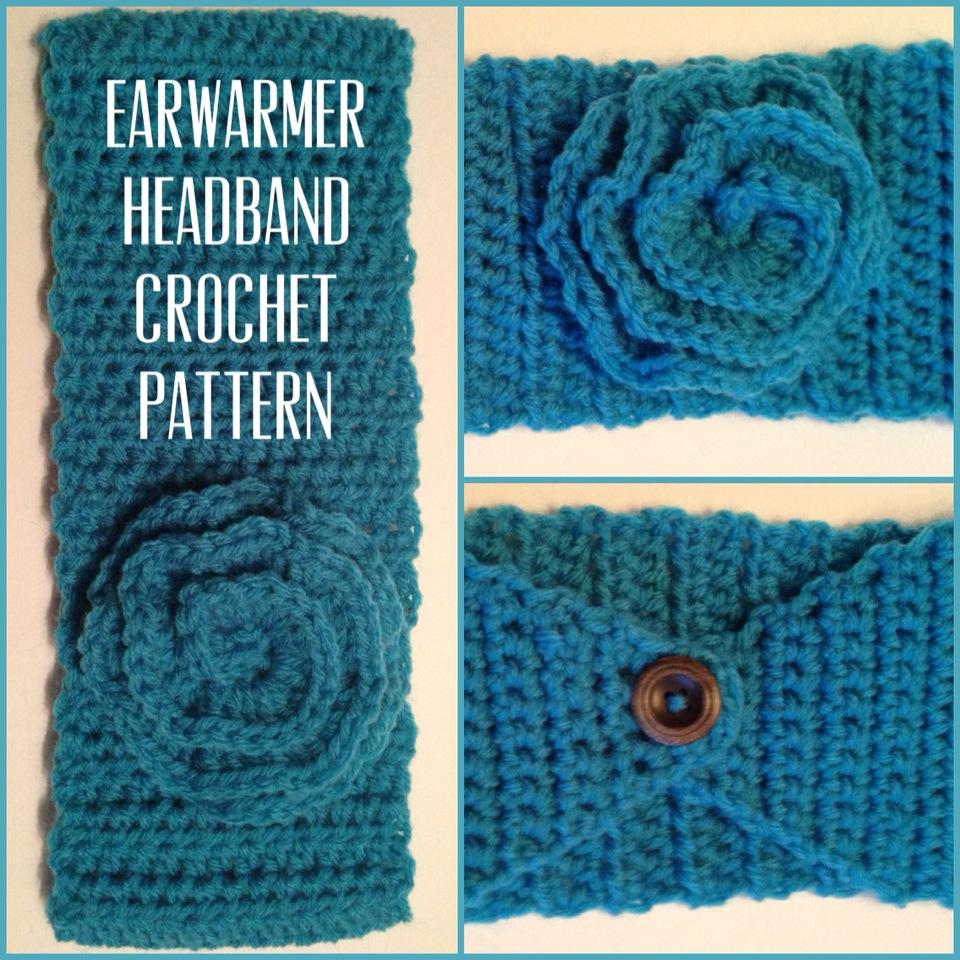 MrsBrits: Earwarmer Headband {Crochet Pattern}