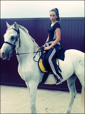 Esa sensación de libertad, cuando monto a caballo ;