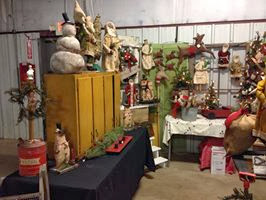 Primitive palace blog gifford state bank country for Country christmas craft show
