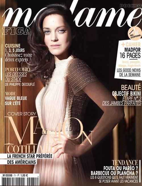 Marion Cotillard Brings Her Beauty to Madame Figaro » Gossip | Marion Cotillard
