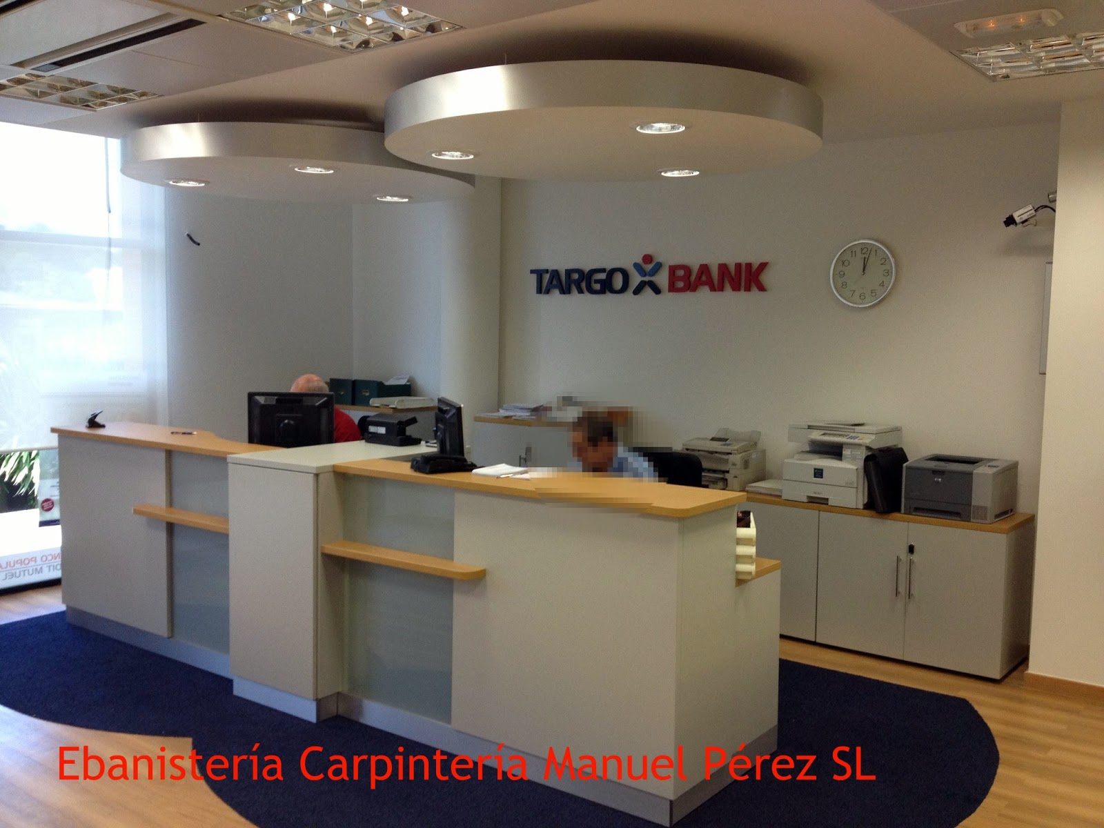 Ebanisteria carpinteria manuel perez zaragoza for Oficinas targobank