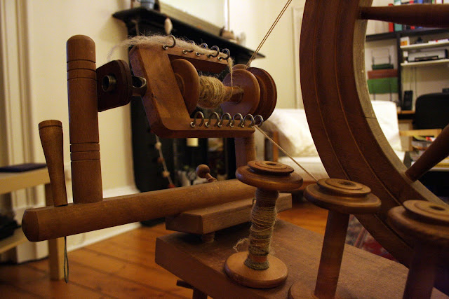 My New Spinning Wheel @owlprintpanda.blogspot.co.uk