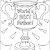 Free Father's Day Coloring Posters, Pages, Graphics